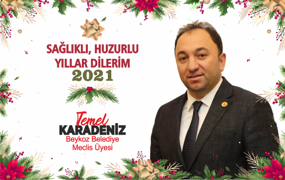 Temel Karadeniz'den Yeni Yıl Mesajı