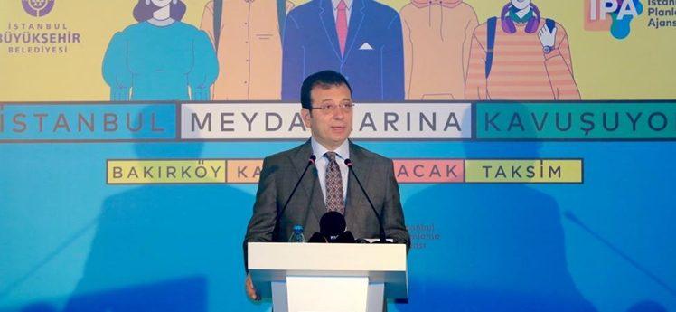 """İmamoğlu: """"Biz yaptık; o 'bizin' içerisinde bütün İstanbullular var…"""""""