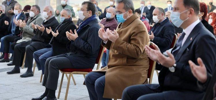 """İmamoğlu: """"Kurtuluş Savaşı'mızı camilerimizden yola çıkarak kazandık"""""""