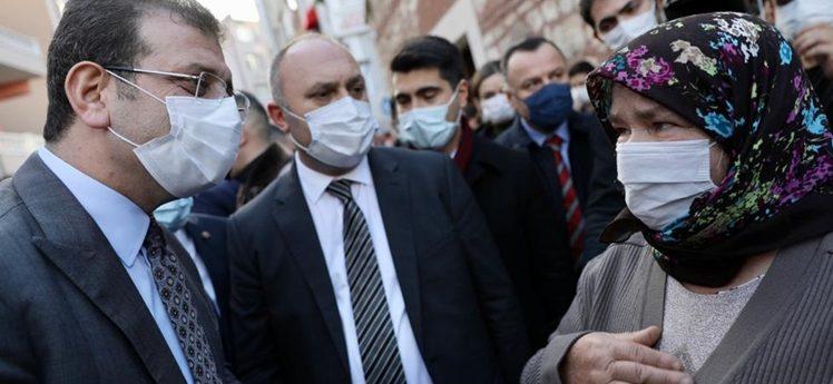 """İmamoğlu Silivri'den mesaj verdi:""""Amacımız; her ilçeye eşit hizmet"""""""