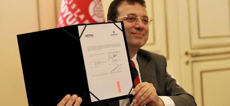 İBB ve USTDA arasında ikinci hibe anlaşması
