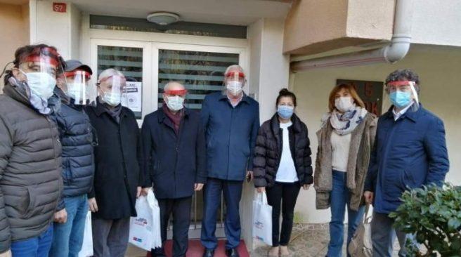 """CHP Beykoz'dan """"Sen varsan biz varız"""" kampanyası"""