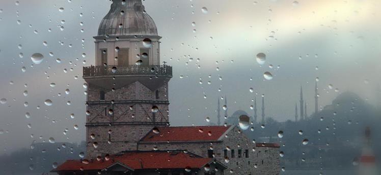 İstanbul yağışlı hava etkisine giriyor