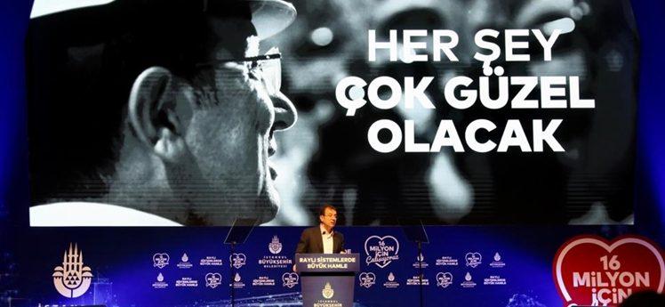 """İmamoğlu:""""2029 hedefimiz 622 kilometre raylı sistem"""""""