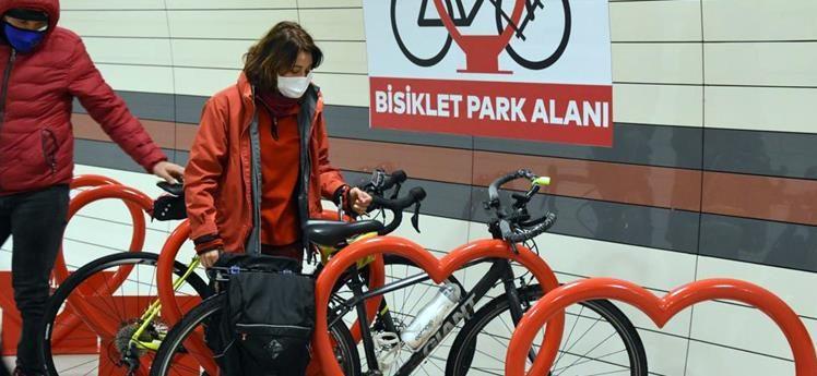 """Çevreci İstanbul Metrosu'na """"Bisiklet Parkları"""""""