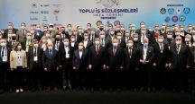 """İmamoğlu, toplu sözleşmede konuştu: """"Emek yarışındayız"""""""