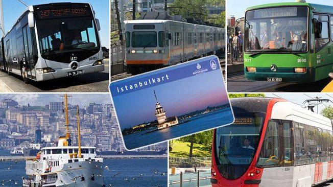 Toplu taşıma aylık yüzde 8.4 arttı