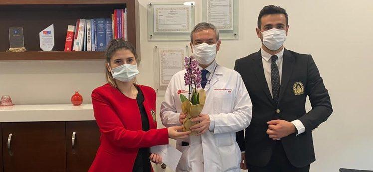 İBB'den Tıp Bayramı'nda sağlık çalışanlarına destek