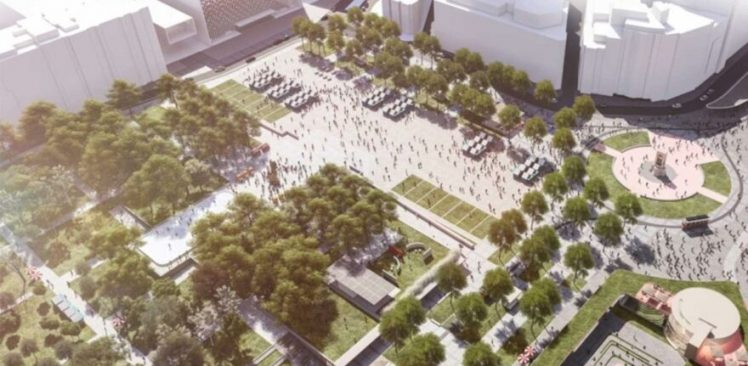 Taksim Meydanı Projesi engelleniyor