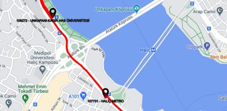 Eminönü-Cibali arasında ücretsiz ring seferi başladı