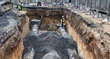İncirli Caddesi'nin alt yapısı yenileniyor