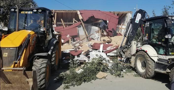 Beykoz Belediyesi, Ramazan Ayı'nda vatandaşların evlerini yıktı