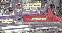Pendik-Kaynarca metrosu için trafik akışı yeniden düzenlendi