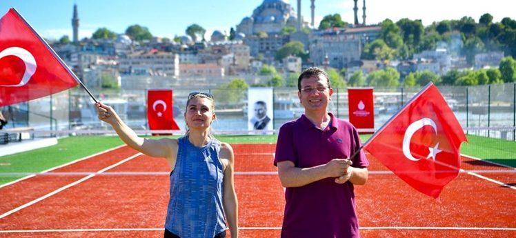 """İmamoğlu:""""İstanbul'un enerjisi hep yukarıda olsun"""""""