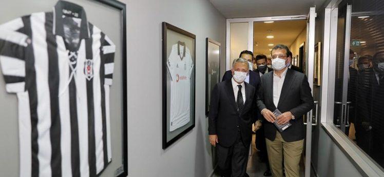 İmamoğlu'ndan Beşiktaş'a 'Şampiyonluk'ziyareti