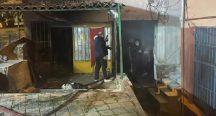 Beykoz'daki imalathane yangınında kundaklama şüphesi!