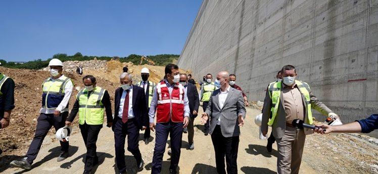 İmamoğlu'ndan Melen Barajı'na 3'ncü ziyaret
