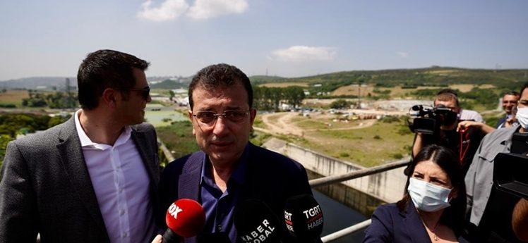 """İmamoğlu, Sazlıdere'de """"Beton Kanal"""" gerçeğini anlattı"""