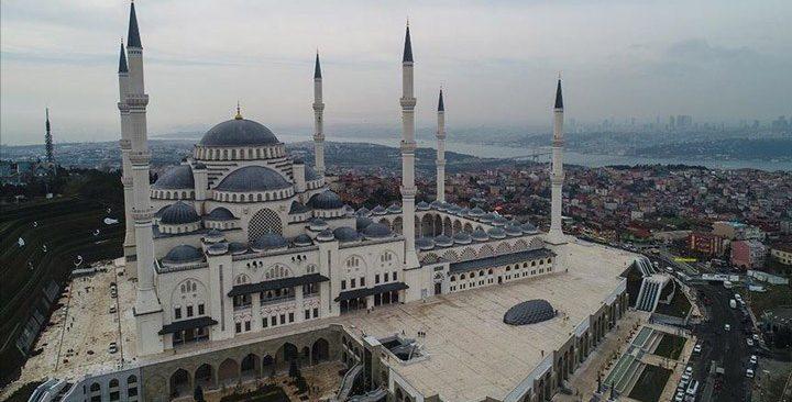 İBB, Çamlıca Tepesi'ne yapılan cami için 290 milyon dolardan fazla harcamış