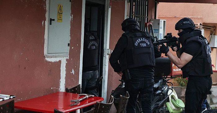 Beykoz'da terör örgütü PKK operasyonu