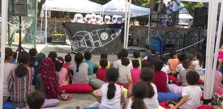İBB'den çocuklar için oynaya oynaya etkinliği