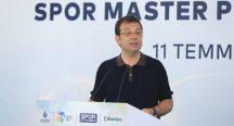 İmamoğlu İstanbul Kenti Spor Master Planı Çalıştayı'nda konuştu