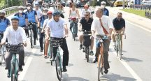 Çevreci bir İstanbul için pedal çevirdiler
