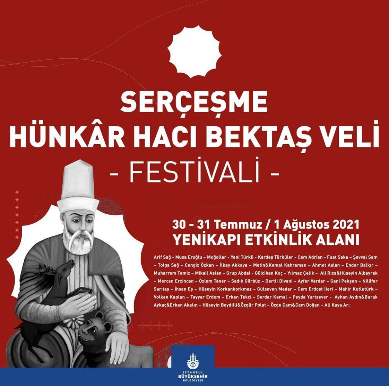 """""""Serçeşme Hünkar Hacı Bektaş Veli Festivali"""" Başlıyor"""