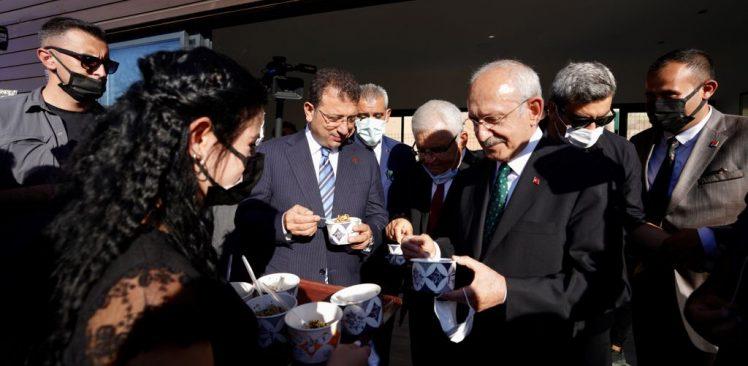 """Kılıçdaroğlu'ndan İmamoğlu'na """"Hacıbektaş"""" Teşekkürü"""