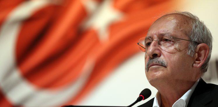 """Kılıçdaroğlu: """"İktidarın Ülkeyi Yangın Yerine Çevirmesine İzin Vermeyeceğim"""""""