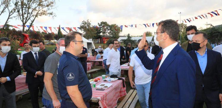 İmamoğlu, İBB'nin Kahramanları İle Piknik Yaptı