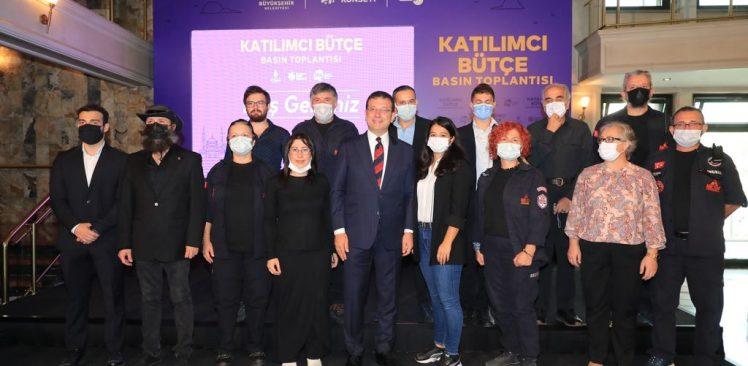 """İmamoğlu """"Katılımcı Bütçe Modeli""""yle kente kazandırılacak projeleri açıkladı"""