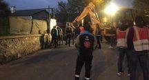 Beykoz'a Çevik Kuvvet Ekipleri sevk edildi: Sabah namazı vaktinde yıkım