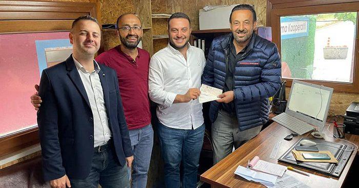 İBB Başkanı'ndan Beykoz'a 200 bin TL'lik bağış!