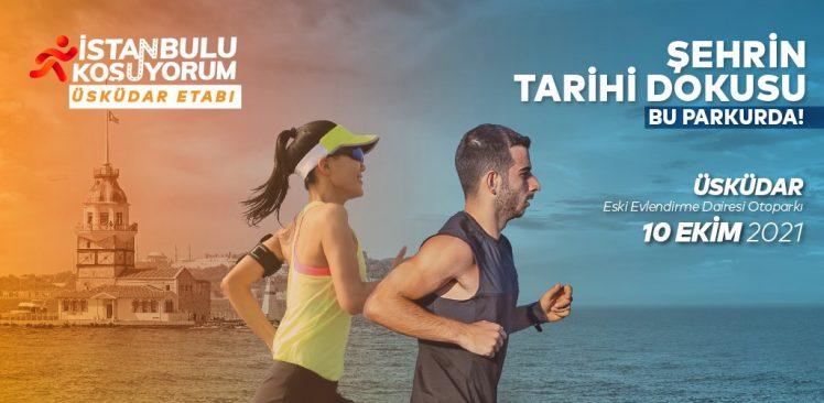 Üsküdar'da Maraton Öncesi Son Prova